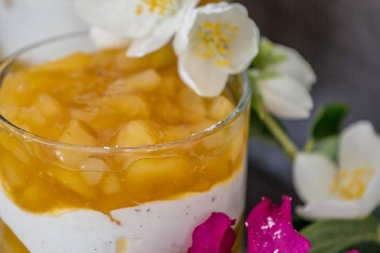 Apfel-Birnen-Strudel-Dessert