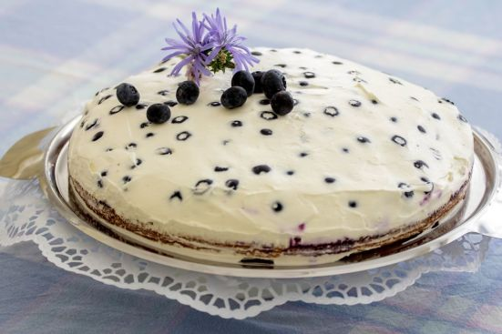 Heidelbeer Mascarpone Torte