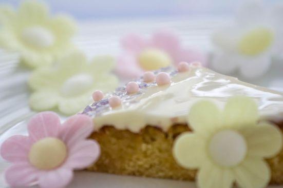 Holunderblüten Zitronen Torte