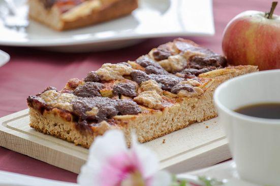 Volllkorn Apfelkuchen