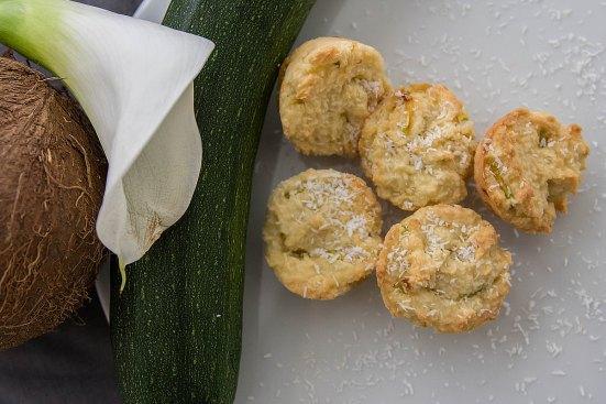 Kokos-Zucchini-Muffins