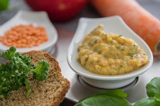 Linsen Curry Dip