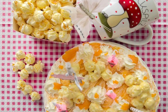 Popcorntorte